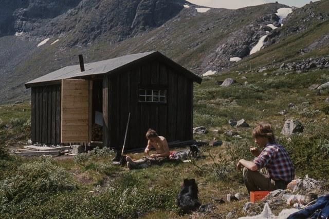 Arvid Dalåmo Torfinn Sparstad ved Russvassbua