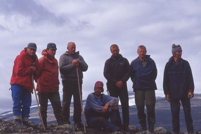 Sylfest Storlien, Asbjørn Hansen, Karl Fuglesteg, Geir Egil Slettom, Kjell Nyøygard, Jon Kjetil Svestad og Erik Brimi